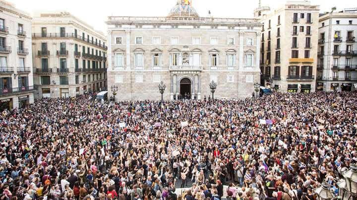 ODA A LOS HOMBRES PRESENTES EN AQUELLA MANIFESTACIÓN